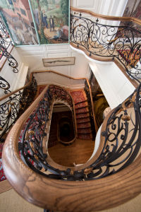 Staircase designed by Bruce Cavell