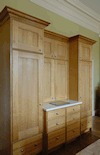 Quality, bespoke cabinet craftsmanship, built to last a lifetime